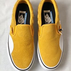 VANS Slip-On Pro Hairy Banana Yellow Checkerboard
